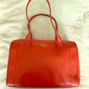 Kate Spade Red spacious Purse